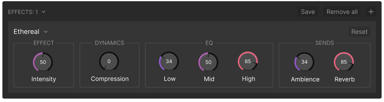 Add a voice effect